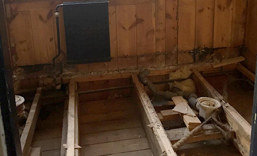 badrumsrenovering stommar
