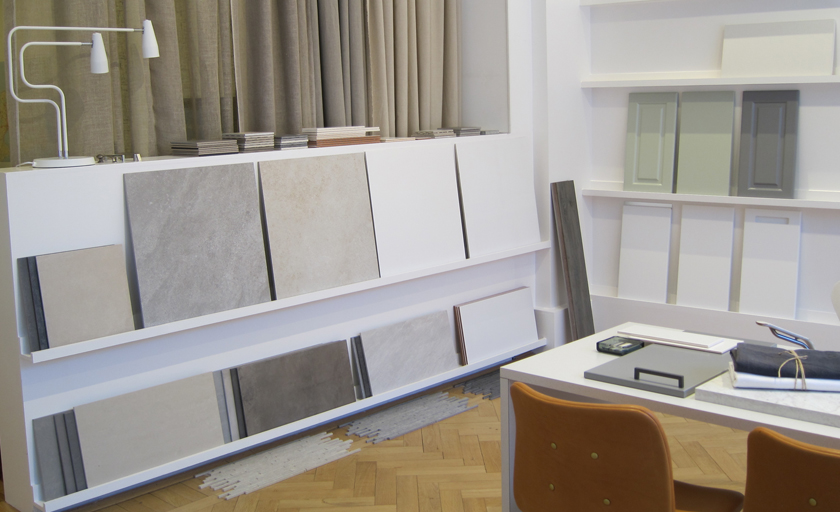 Mija Kinning showroom