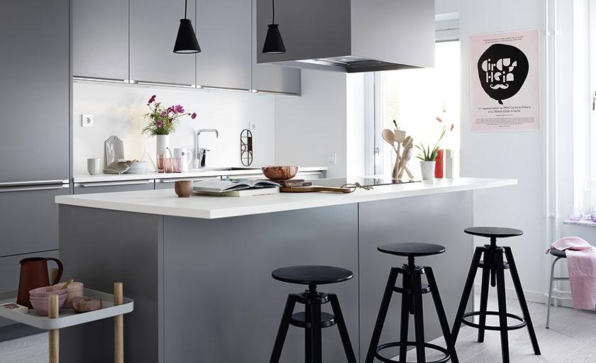 ballingslöv grått kök