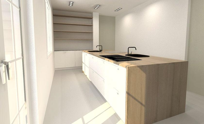 Mija Kinning drömmen om ett nytt kök