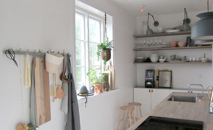 premiär för nya köket - mija kinning