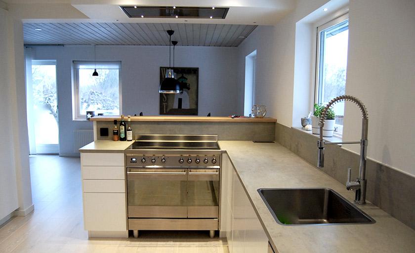köket är helt klart - Catarina König