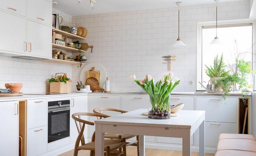 Nu är Fridas kök klart!