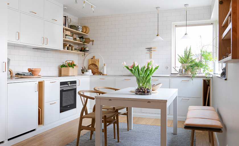 Frida Ramstedt - kjøkkenet er ferdig!
