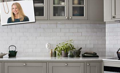 Renoveringen med Therese Larsson : köket blev stjärnan i den pampiga sekelskiftesvåningen