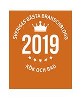 Utsedd till Sveriges bästa branschblogg 2019