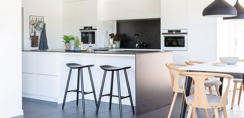Vit minimalism möter landsbygden