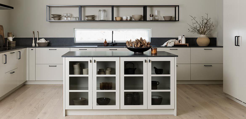 Ett modernt kök i en perfekt beige nyans!